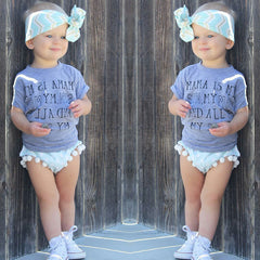 Mama is my sun, my moon, and all my stars kid's short sleeve tee