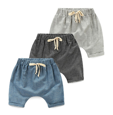 Lightweight Boys Knee Length Shorts
