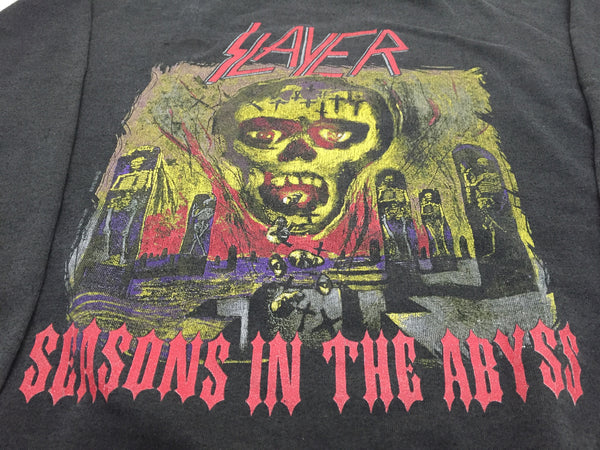 Slayer 1990 'Seasons In The Abyss' XL *Heavy Fade*