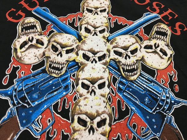 Guns N' Roses '91-'92 'Skull Cross / Use Your Illusion World Tour' XL/XXL