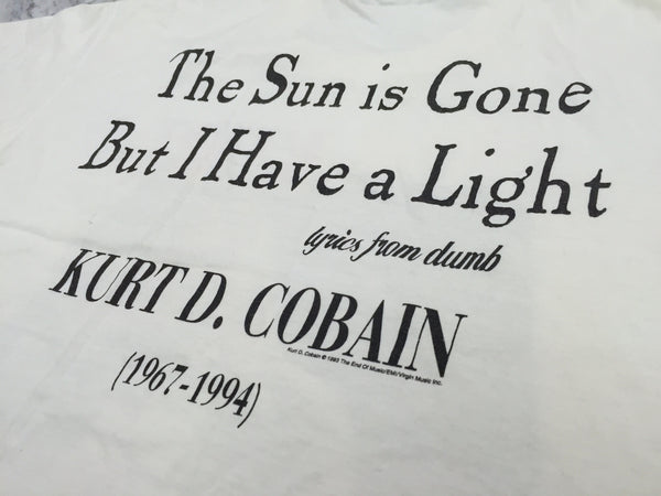 Kurt Cobain 1995 Unplugged XL