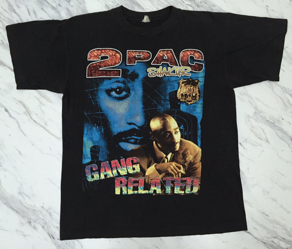 2Pac 90s 'Gang Related' Bootleg Tribute XL *Rare*