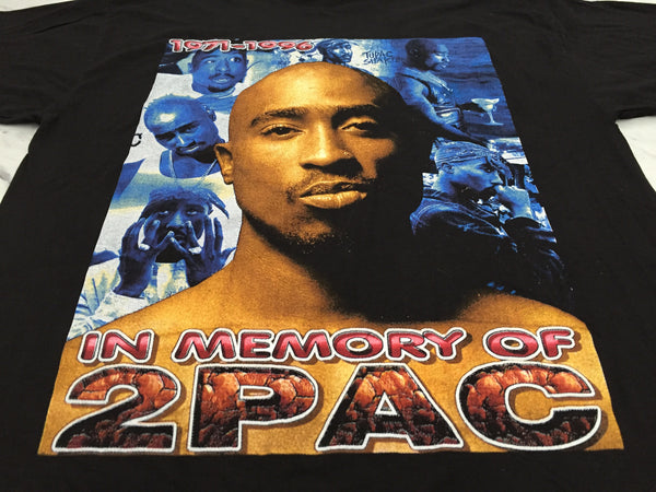 2Pac 90s In Memory Of... Bootleg Tribute XL *Deadstock*