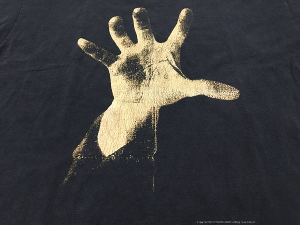 System Of A Down 1998 'Hand Logo' L *Heavy Fade*