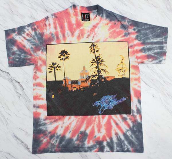 Eagles 1994 'Hotel California / Hell Freezes Over Tie-Dye' L *1 of 1*