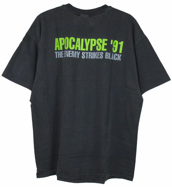 Public Enemy 1991 'Apocalypse '91' Large not faded