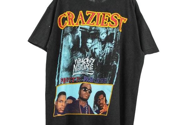 Naughty By Nature '95 'Craziest' XL *RARE*