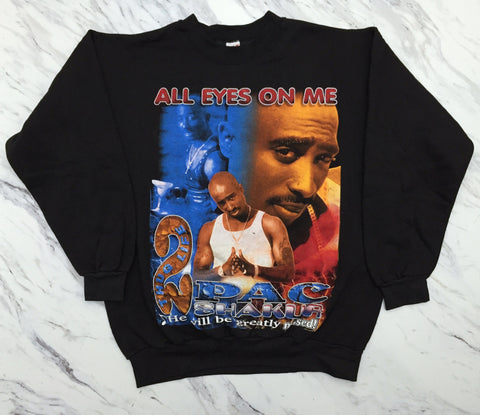 2Pac 90s Tribute Crewneck XL/XXL *Deadstock*