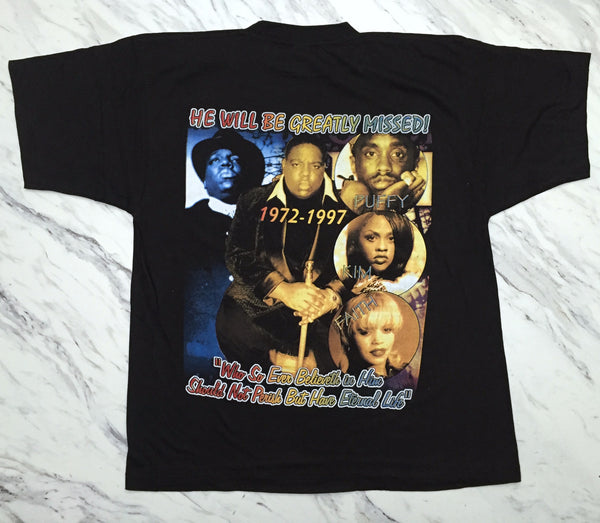 Notorious B.I.G 90s 'Life After Death Bootleg' XL *Deadstock*