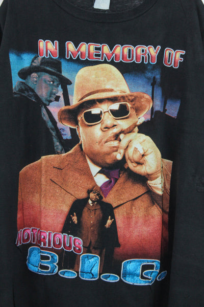 Notorious B.I.G 90s 'Hypnotize / Life After Death Bootleg' Boxy XL/XXL