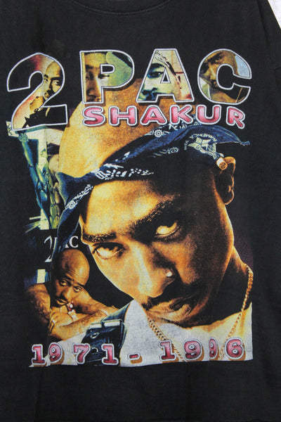 2Pac 90s 'Only God Can Judge Me' Bootleg Tribute Boxy XL/XXL