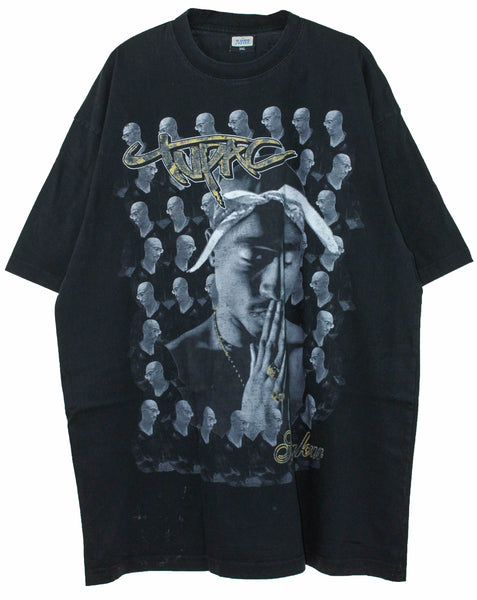 2Pac '00s Tribute 3XL *Distressed**Oversized*