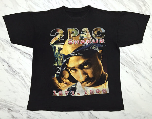 2Pac 90s 'Only God Can Judge Me' Bootleg Tribute XL/XXL