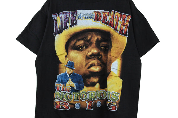 Notorious B.I.G 90s 'Life After Death Bootleg' Boxy XL