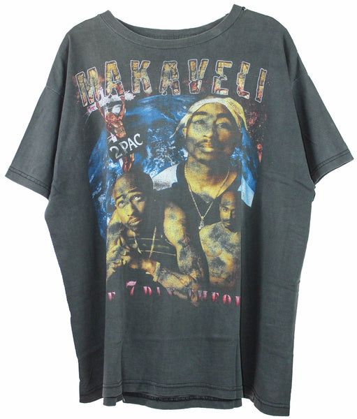 2Pac Late 90s 'Makaveli / Life of an Outlaw' Boxy XL