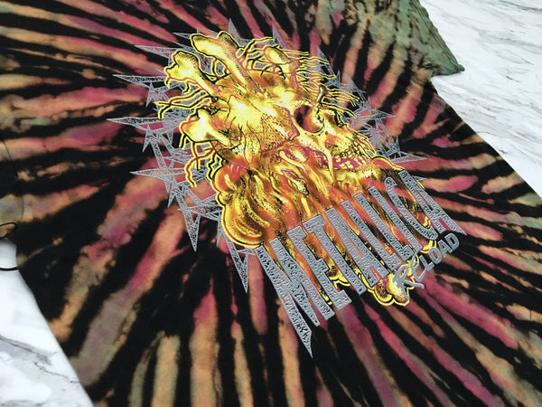 Metallica '98 'Reload Tour Tie Dye' XL *1 of 1*
