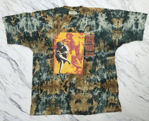 Guns N' Roses '93 'Use Your Illusion Tie Dye Bootleg' XL