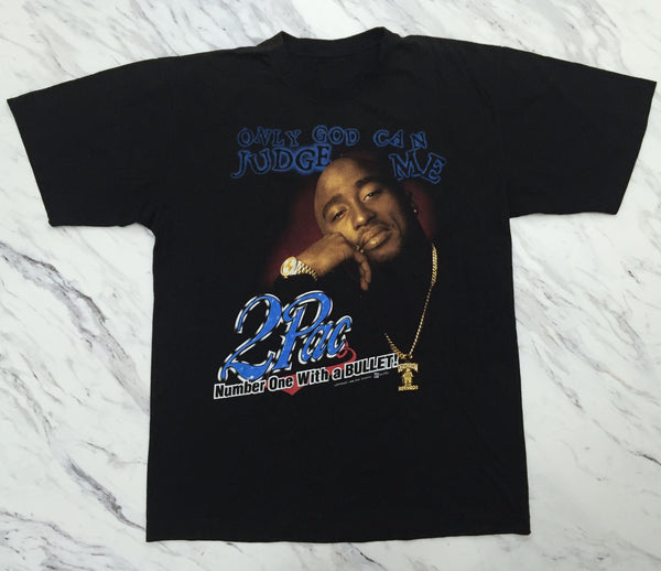 2Pac '98 'Only God Can Judge Me / Thug Life' XL *Rare*