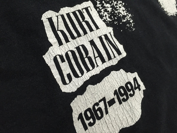 Kurt Cobain 1994 Tribute XL *Rare*