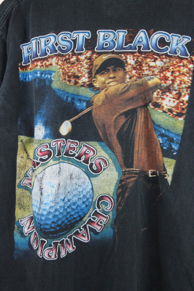 Tiger Woods '97 'First Black Masters Champion' Large