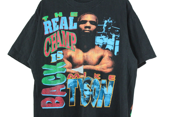 Mike Tyson 90s Real Champ Is Back L/XL
