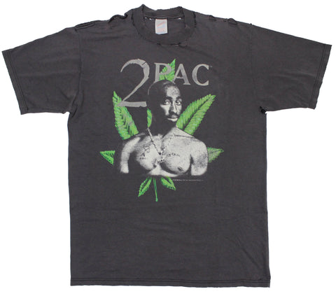 2Pac '97 'Thugg Lyfe' Large *Thrashed/Faded*