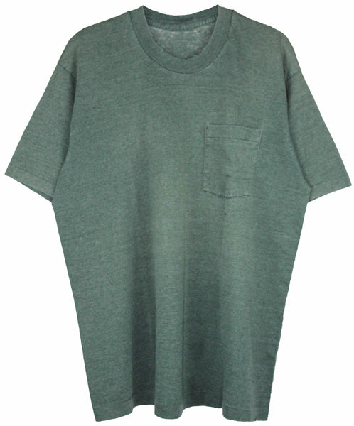 Mint Green Distressed Neck L