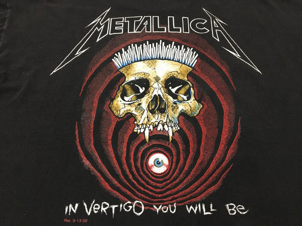 Metallica '88/'91 'Shortest Straw / In Vertigo' XL *Short Boxy Fit*