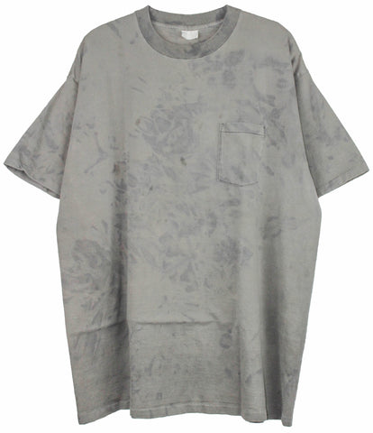 Single stitched pocket tee 'Concrete' XXL