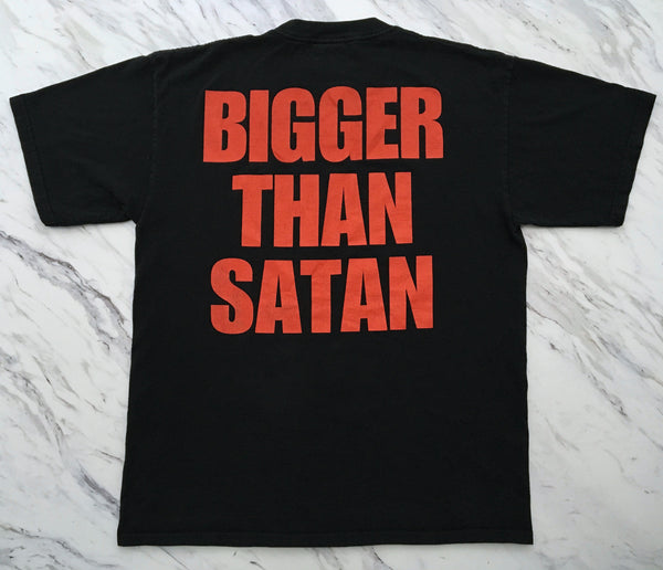 Marilyn Manson '98 'Bigger Than Satan' XL *Faded*