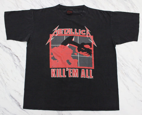 Metallica '90 'Kill Em' All / Ride The Lightning' XL *Glow In The Dark*