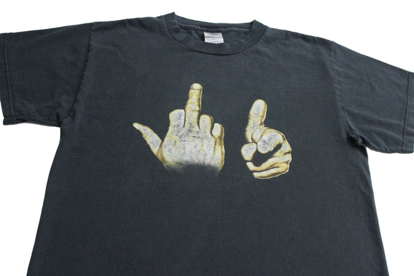 Vintage 90s 'Fuck You Hands' Medium