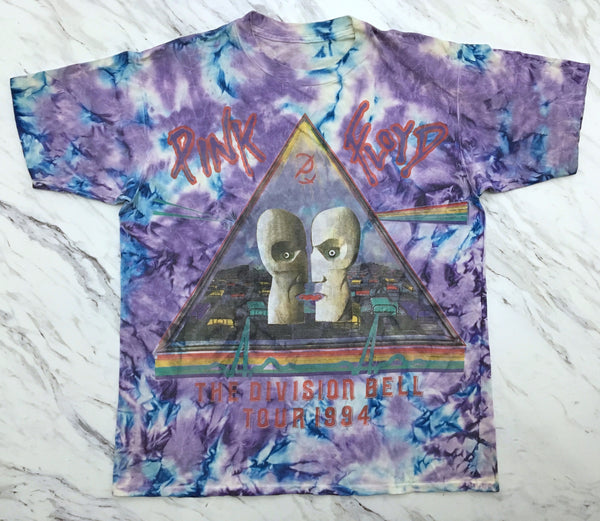 Pink Floyd 1994 Division Bell Tour Tie Dye XL
