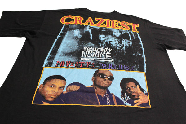 Naughty By Nature '95 'Craziest' XL/XXL *RARE*