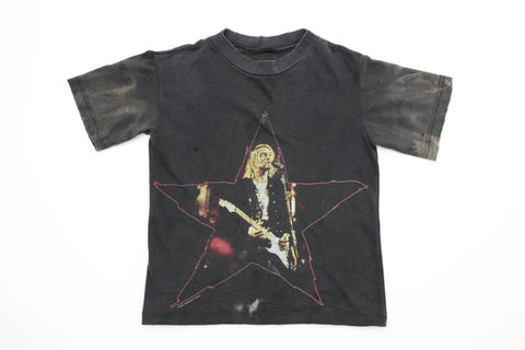 Elevated Youth Reworked '96 Kurt Cobain 'Star' Tee Youth XS  *1 of 1*