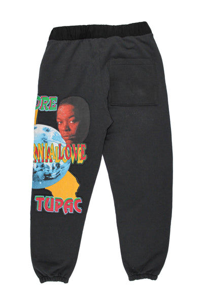 Reworked 2Pac x Dr. Dre 'California Love' Sweatpants Sz Large *1 of 1*