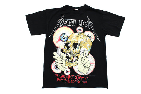 Elevated Youth Reworked '88 Metallica 'Shortest Straw' Youth XS/Small *1 of 1*