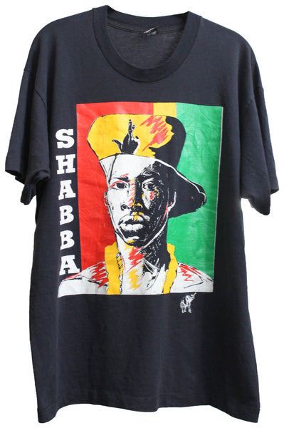 Shabba Ranks early 90s XL *RARE*