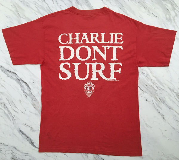 Zooport Riot Gear '91 'Charlie Don't Surf' Large *Red*