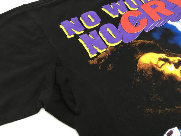 Bob Marley 90's 'No Woman, No Cry' L/XL *Distressed*
