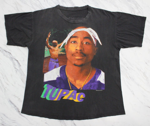 2Pac '95 'Chi Modu / So Many Tears' XL *Rare*