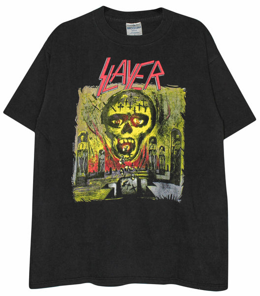 Slayer 1990 'Seasons In The Abyss' M/L *Rare*