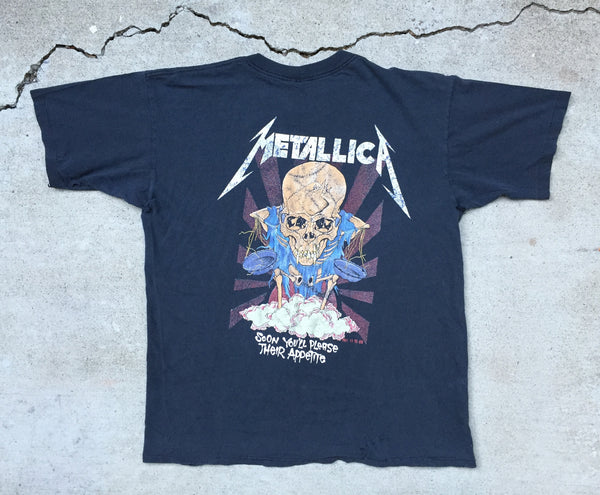 Metallica '88/'91 'Doris / Their Money Tips Her Scales' XL *Distressed*