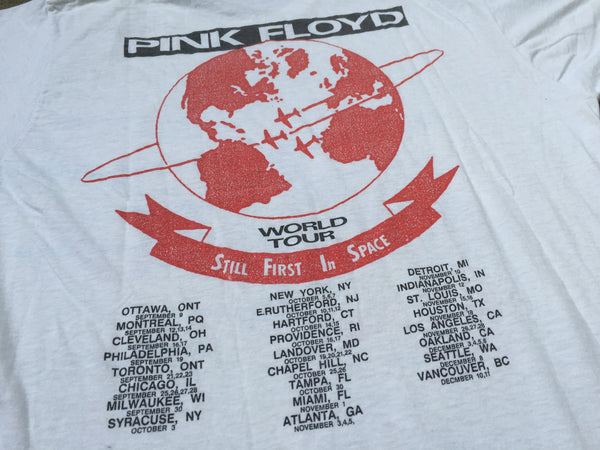 Pink Floyd '87 'Learning To Fly / World Tour' M/L *Rare*
