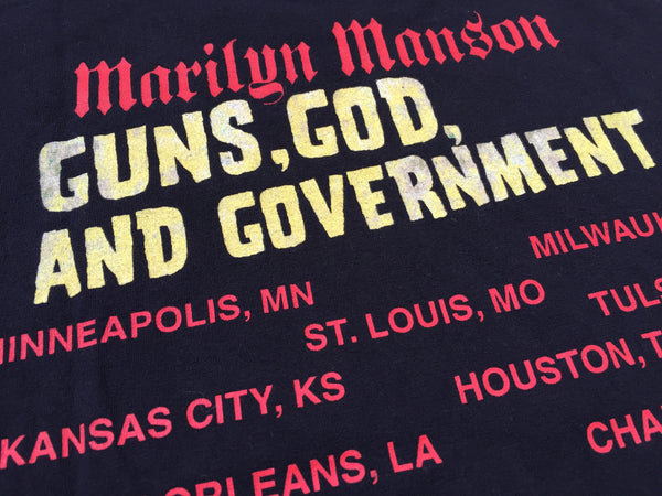 Marilyn Manson 2000 'Guns, God and Government Tour' XL