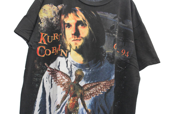 Nirvana Mid 90s 'In Utero /Kurt Tribute Bootleg' XL *RARE*