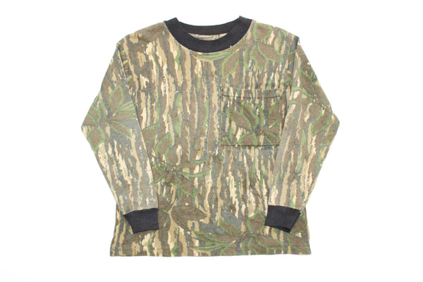 Elevated Youth Reworked 80s Real Tree Camo LS Youth XS *1 of 1*
