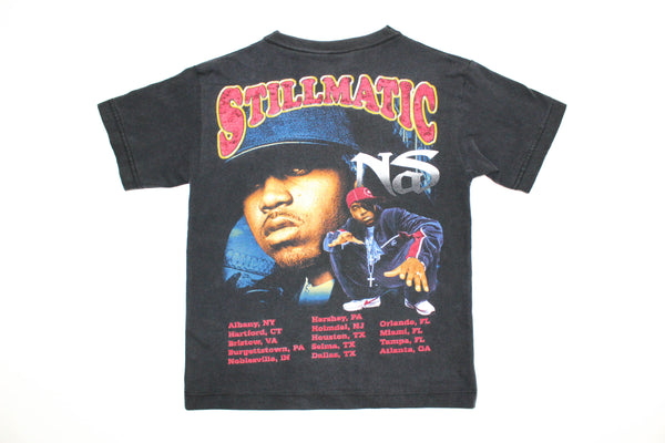 Elevated Youth Reworked '01 Nas 'One Mic / Stillmatic' Youth XS/Small *Rare 1 of 1*