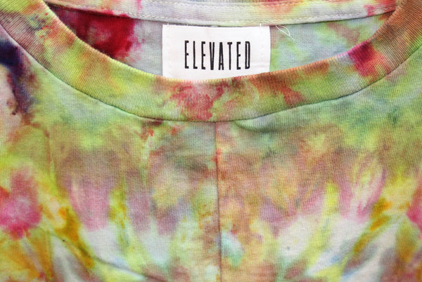 Elevated 'Rorschach Split Tie Dye' XL