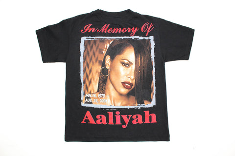 Elevated Youth Reworked '01 Aaliyah Tribute Bootleg Youth XS *1 of 1*